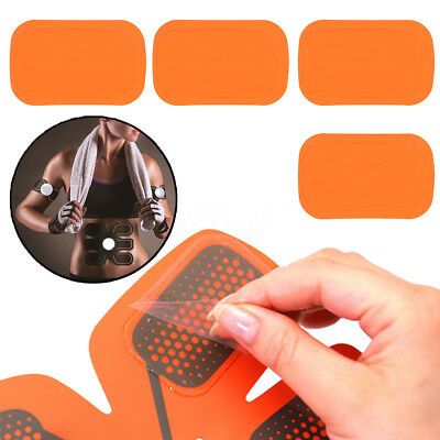 4~12Pcs Replacement Gel Sheet Pad For Muscle Training Gear ABS Body Fit Fitness