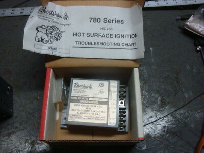 New Robertshaw 780-783 Furnace Ignition Module 120V Hs780-34Pl-308A