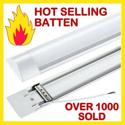 2ft 3ft 4ft 5ft 6ft HIGH POWER SLIMLINE LED BATTEN Replace Florescent Tube Light