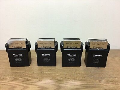 Set of 4 Thermo Scientific Sorvall Heraeus 75015679 Centrifuge Bucket w/ Holders