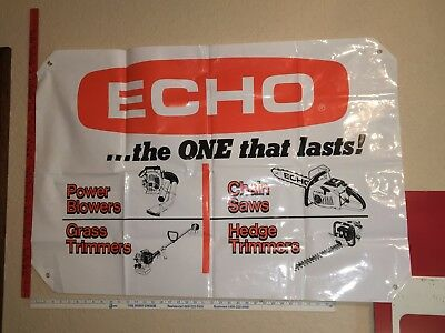 "Vintage Advertisement / ID Posters - ECHO 44"" x 30"" Banner"