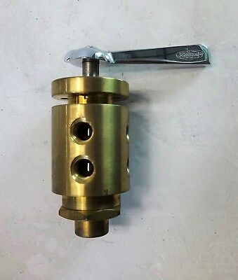 "Conant 1/4"" Multi-Port Stack Control Valve, Brass"