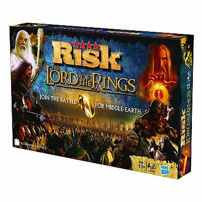 Risk Strategy Board Game - Lord Of The Rings Edition