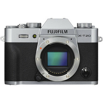 Fujifilm X-T20 Mirrorless Digital Camera (Body Only, Silver)!! BRAND NEW!!