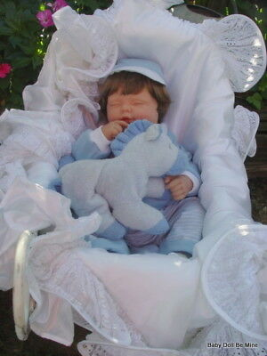 "New OOAK  ~ Berenguer ~ Sleeping 21 "" Boy Baby Doll"