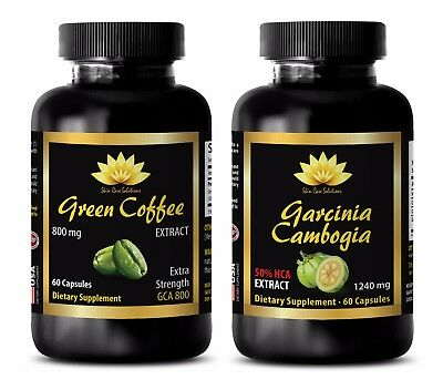 Energy boost supplement for women-GREEN COFFEE EXTRACT – GARCINIA CAMBOGIA COMBO