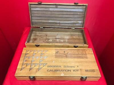 Hp Agilent 85052A(Case Only) Empty Wooden Box For Calibration Kit