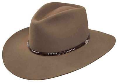 STETSON LLANO WOOL Western Hat in Acorn SWLLNO-163911 USA MADE -  109.95  6dc4fda50e0