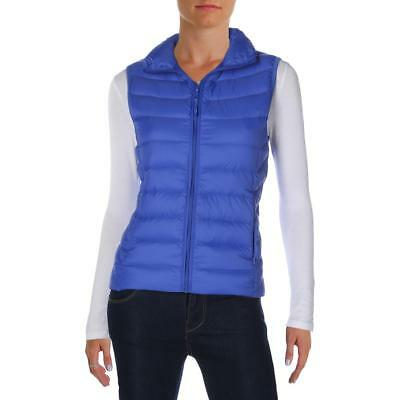 Aqua 6381 Womens Quilted Down Feather Puffer Vest BHFO