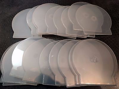 20 DVD CD Plastic Clamshell Cases FREE USPS Shipping