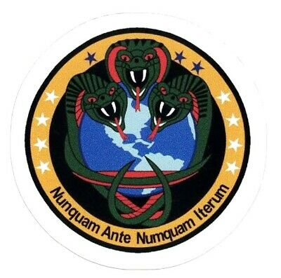 NRO CLASSIFIED MISSION STICKER ~Nunquam Ante Numquam Iterum Black Project?