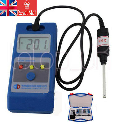 WT10A LCD Tesla Meter Gaussmeter Surface Magnetic Field Tester UK Post Free Ship