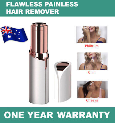 Women Painless Hair Remover Face Facial Hair Removal Flawless Finishing Touch AU