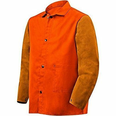Steiner 1250-L 30-Inch Jacket, Weldlite Plus Orange Flame Retardant Cotton