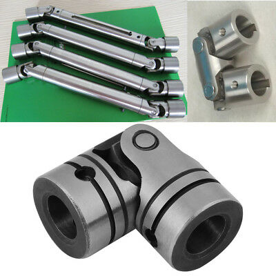 12mm Dia Shaft Coupling Motor Connector Stainless Steel Universal Joint HighQ