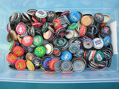 1600 Uncrimped Soda Bottle Crown Caps. Look closely at flared bottom in picture