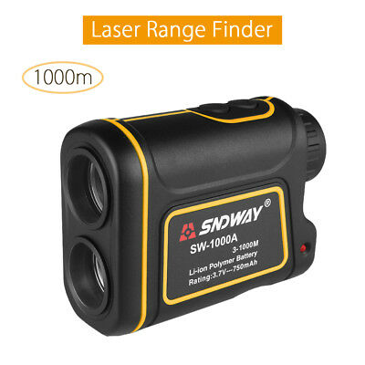 1000M Laser Measuring Distance Speed Angle Height Range Finder For Golf Hunting