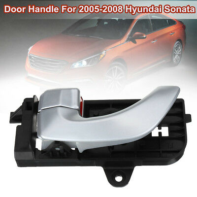 Front Left Driver Side Outside Door Handle Chrome ABS For Hyundai Sonata 05-08