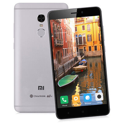 64Go DecaCore 5.5'XIAOMI Redmi Note4 4G HelioX20 13MP 4100mAh Smartphone Global
