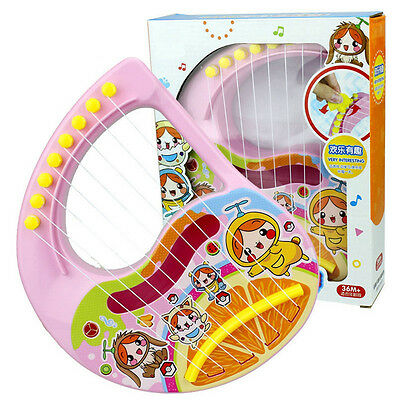 Kid Basic Musical Instruments Organ Harp Electronic Fiddle Music Toy