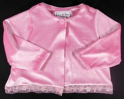 Little Darlings baby girl cardigan jacket pink 18 month