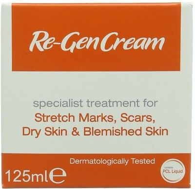 Re-Gen Cream for stretch marks, scars, dry and blemished skin