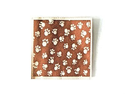 Fairy Pet Blanket With Paw Print - For Indoor Fairy Gardens - New & Packaged