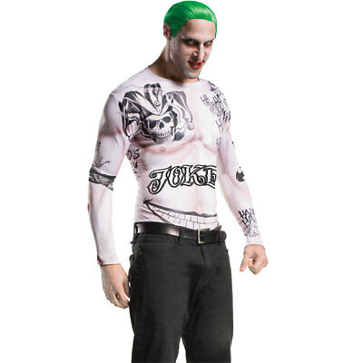Rubies Mens Suicide Squad The Joker Fancy Dress Costume Kit