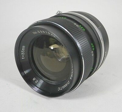 Accura Diamatic 35mm f2.8 Prime Lens for the Pentax Universal Thread Mount