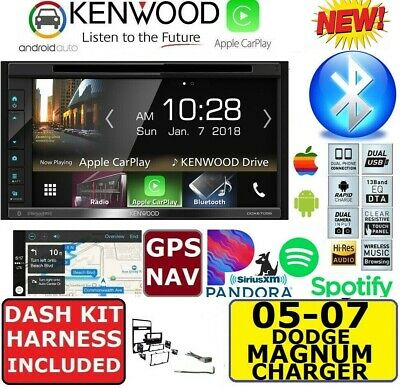 2005-07 Dodge Magnum Charger Gps Navigation Cd/Dvd Apple Carplay Android Auto