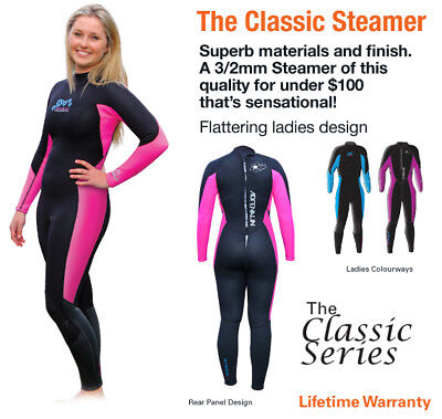 SALE - Enduro Steamer Womens Wetsuit 10 Pink 50% OFF RRP  until SOLD OUT