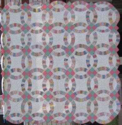 Double Wedding Ring Quilt #17906