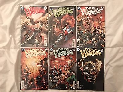 DC The Death of Hawkman # 1-6 COMPLETE SET