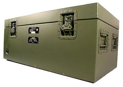 Military Army Transit Case 654-737-001 Rugged Waterproof Dustproof Air-Tight