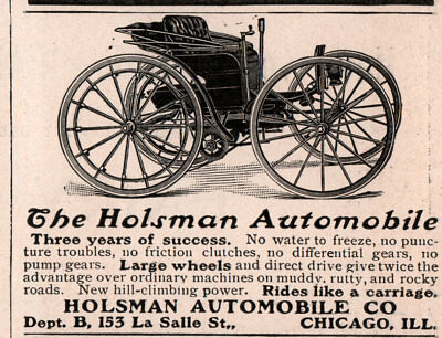 1904 A AD holsman automobile co 3 years of success