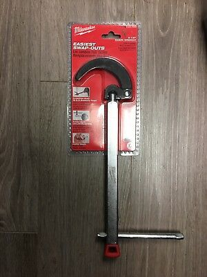 Milwaukee 48-22-7002 2.5 in. Adjustable Telecoping Spring-Loaded Basin Wrench