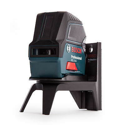 Bosch GCL 2-15 Professional Combi Laser with Cross Line and 2-Point + RM1 Mount