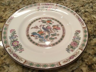 """Wedgwood Kutani Crane, Salad / Plate, 8"""" Excellent condition..REDUCED 2ND TIME"""