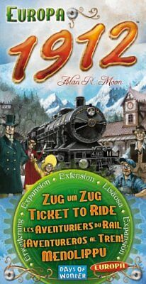 Ticket To Ride Europe Expansion 1912