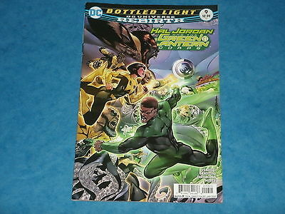 DC Comics Rebirth: Hal Jordan And The Green Lantern Corps #9  Jan.2017
