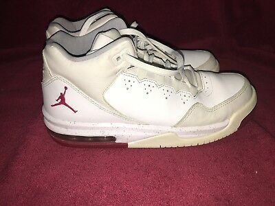 a3b1028a537035 Nike Air Jordan Flight Origin 2 White Gray Red 718075-109 Youth Boys Size  6.5