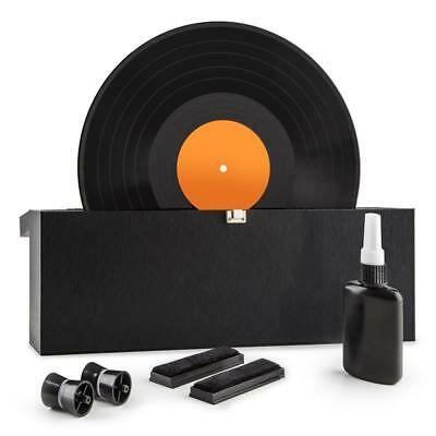 """Vinyl Records Wash Music Track Cleaning Kit Machine Carry Case 7""""/10""""/12"""" New"""