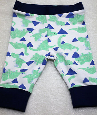 NEW Baby Leggings Long Pants Dinosaur Print Size 0-3 months Cotton