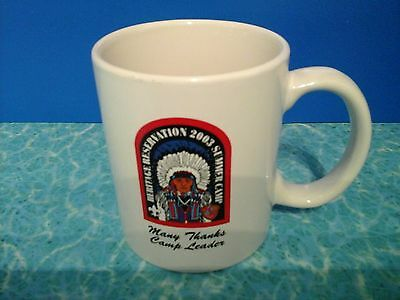 BSA BOY SCOUTS HERITAGE RESERVATION camp leader 2003 coffee cup mug