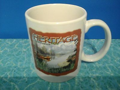 BSA BOY SCOUTS HERITAGE RESERVATION 25th annv. camp leader 2004 coffee cup mug