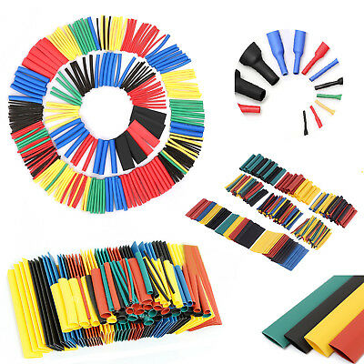 400× Heat Shrink Tubing Tube Sleeve Kit Car Assorted Electrical Cable Wire Wrap
