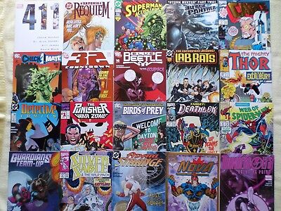 Lot of 40 comics ........all Marvel + DC
