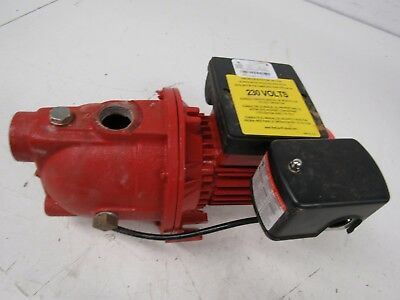 Red Lion RL-SWJ50 97080502 1-2-HP 13-GPM Cast Iron Shallow Well Jet Pump, Red