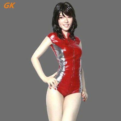 130mm resin soldiers figures model 1/12 Sexy swimsuit girl GK