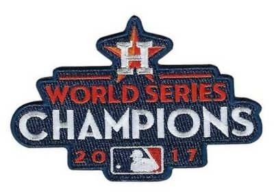 Official 2017 MLB World Series Champions Champs Houston Astros Collectible Patch